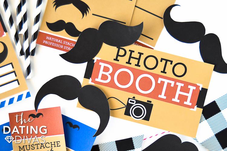 No Shave November Photo Booth