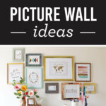 Easy and Eye Catching Picture Wall Ideas