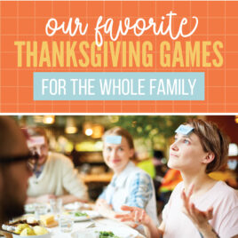Game Ideas for When Your Family is Gathered for the Holidays!