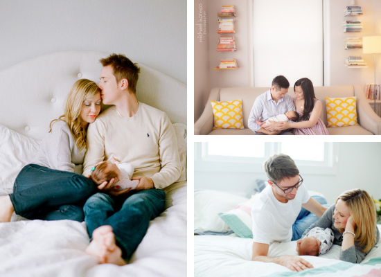 At Home Newborn Photo Ideas