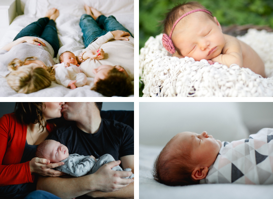 Newborn Baby Pic Pose Ideas