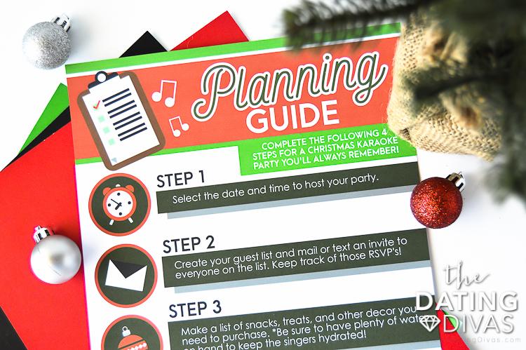 Christmas Carols Game Night Planner