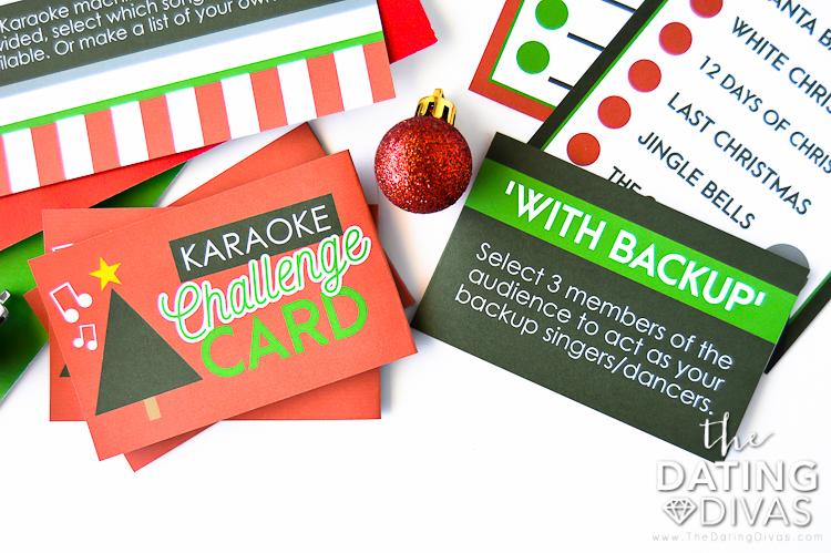 Christmas Karaoke Challenges