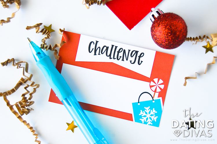 Christmas Gift Ideas Challenge Card