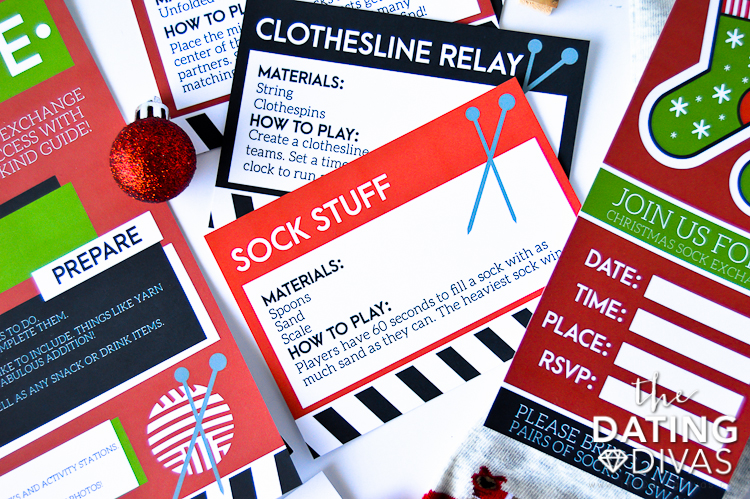 Christmas Sock Exchange Ideas