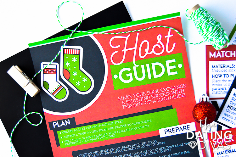 Christmas Sock Exchange Instructions