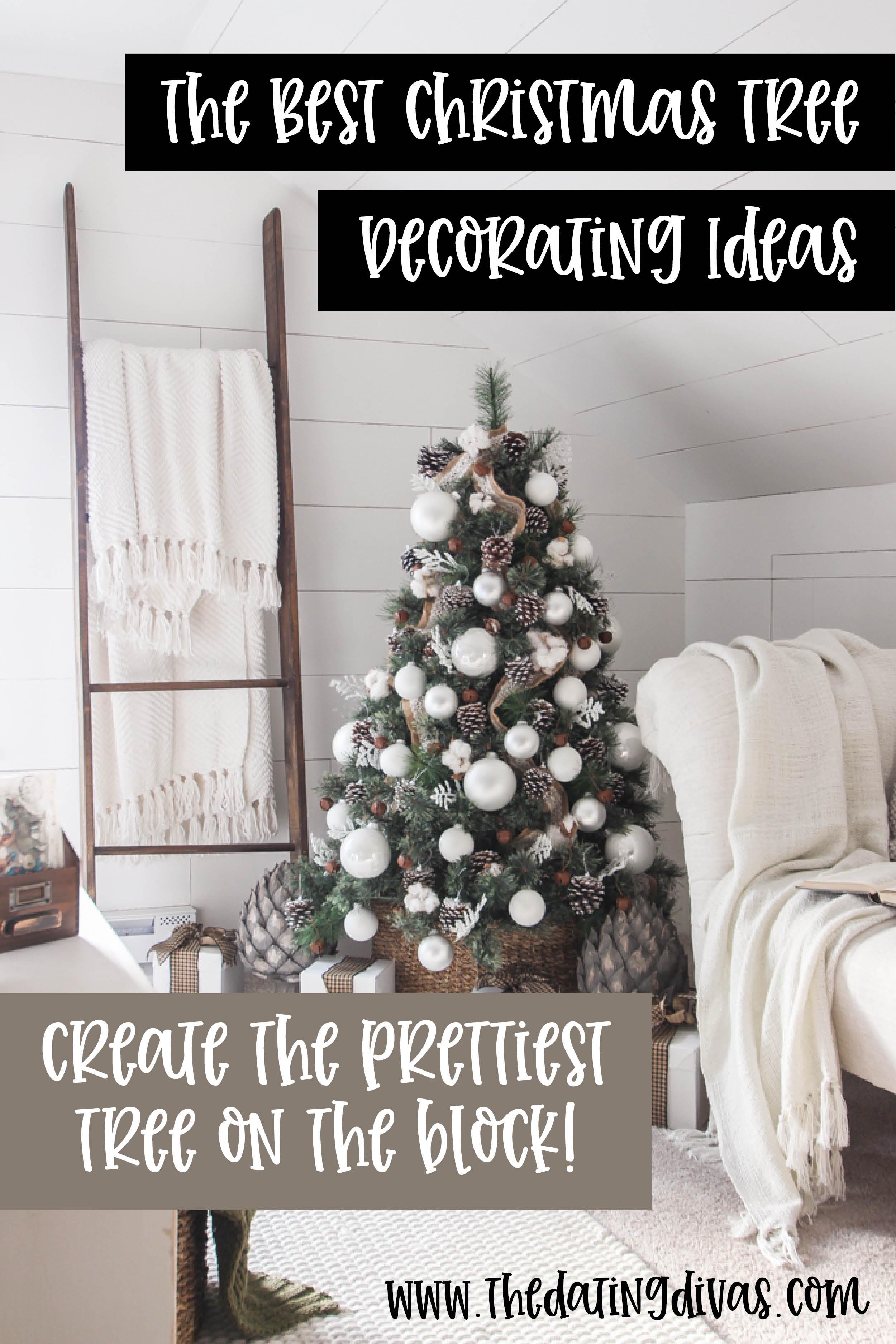 Christmas Tree Decorating Ideas | The Dating Divas