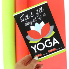 Couples Yoga Date Night Invitation