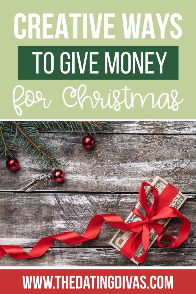 Christmas Money Gift Ideas