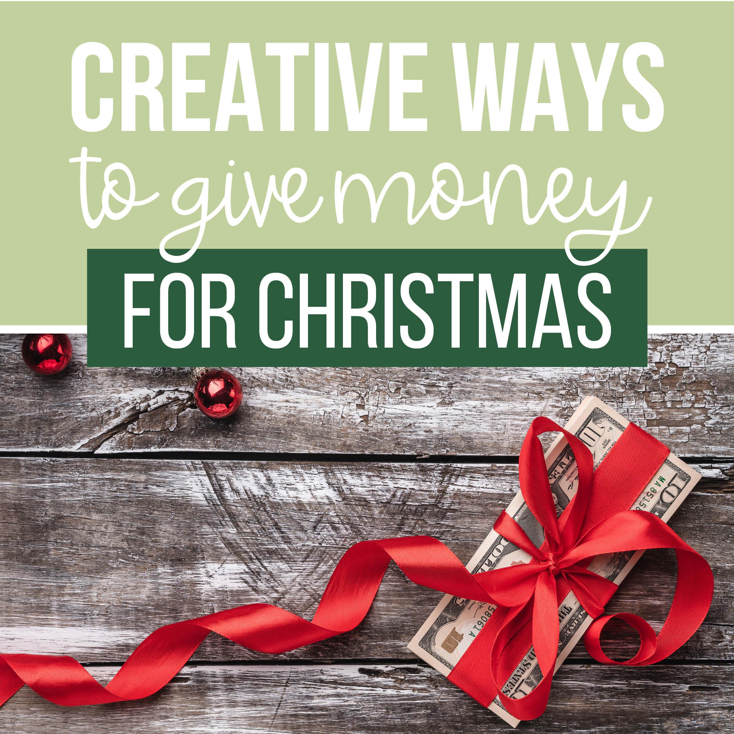 Money Gift Ideas For Christmas The Dating Divas