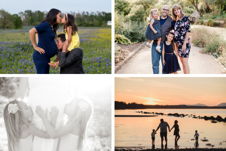 Family Picture Ideas for a Maternity Shoot