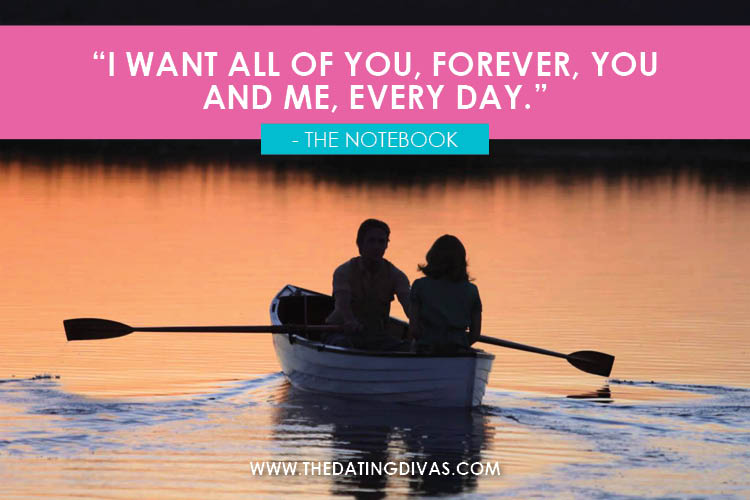 Most Romantic Movie Love Quotes of All Time! | The Dating Divas