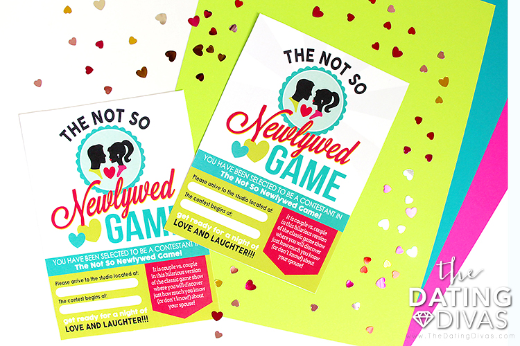 Not So Newlywed Game Invite