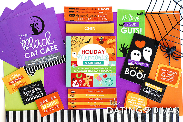 Holiday Memories Book Halloween Printables