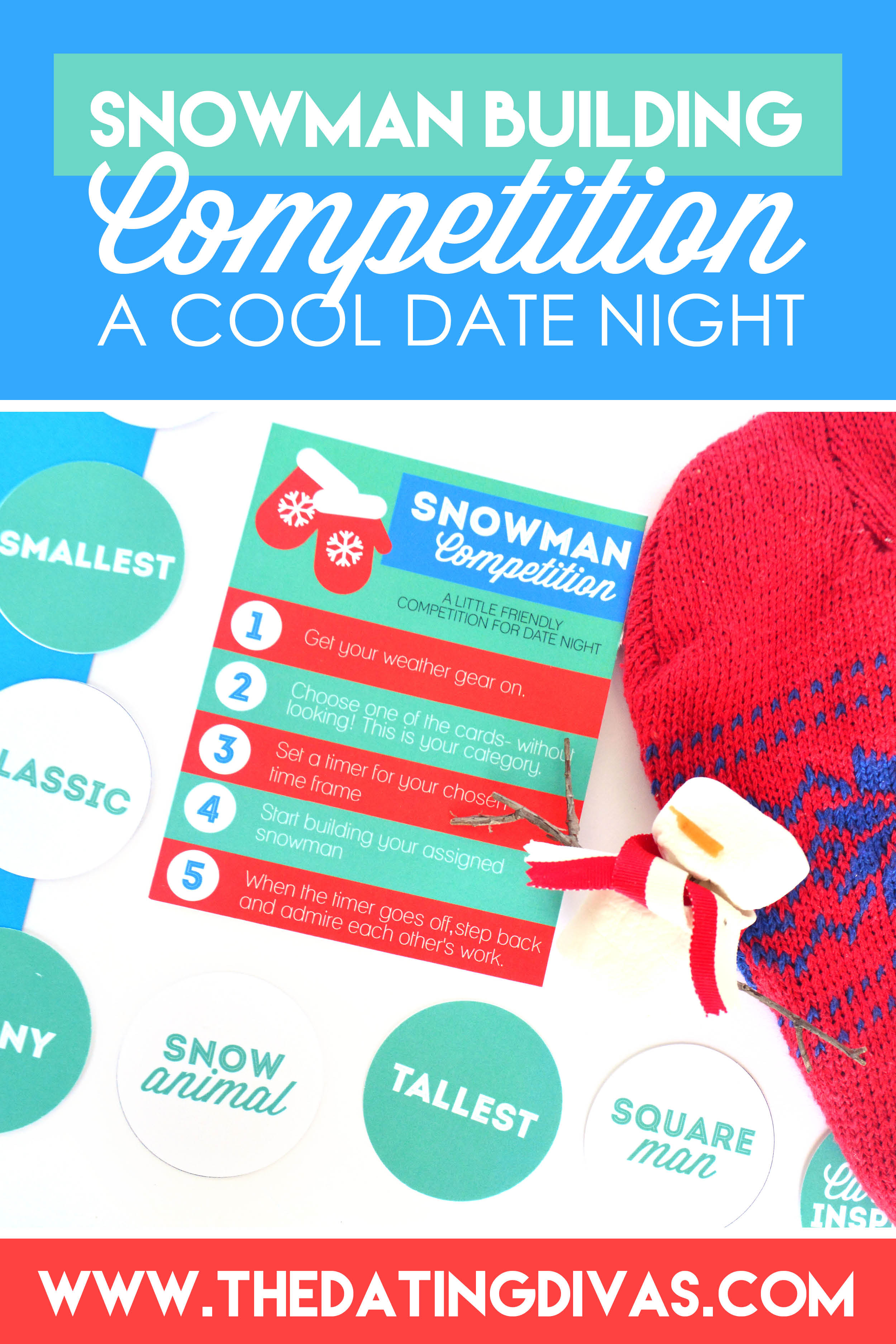 How to Build a Snowman Date Night