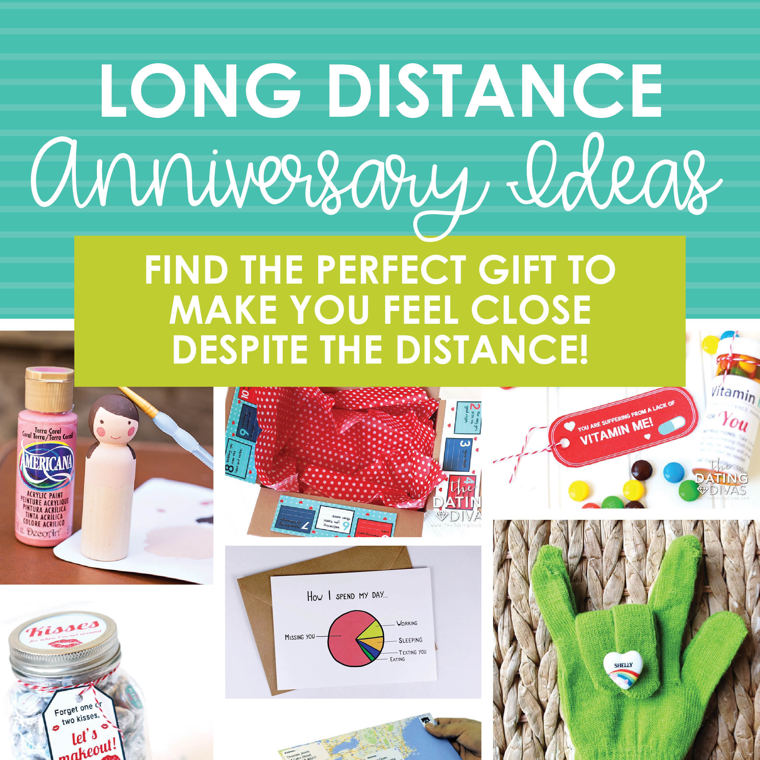 Third Wedding Anniversary Gift Ideas For Her: Long Distance Anniversary Ideas