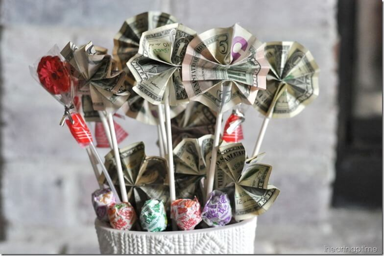 Lucky Lollipops Money Gift