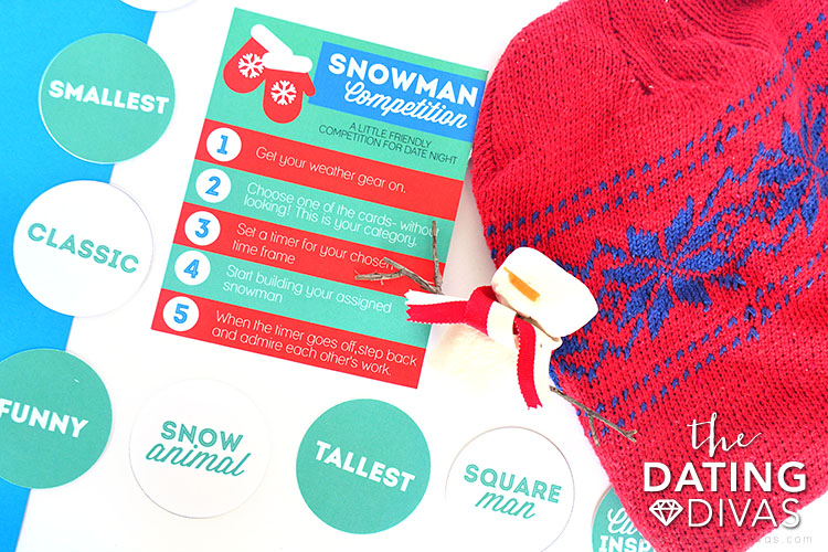 Make a Snowman or Snow Sculptures