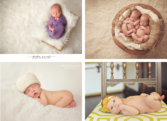 Newborn Baby Pic Prop Ideas