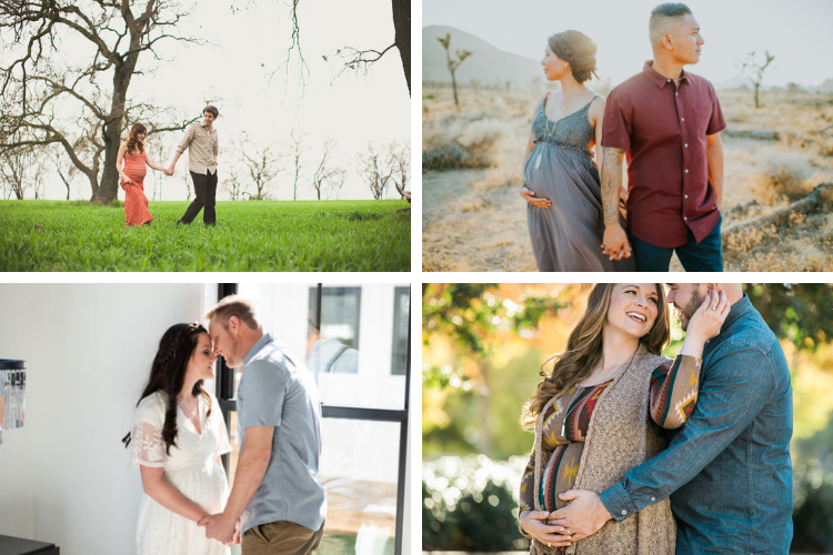 Pregnancy Pictures of the Couples