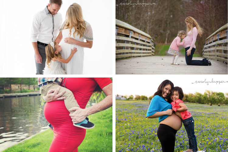 Pregnancy Pictures with Kids