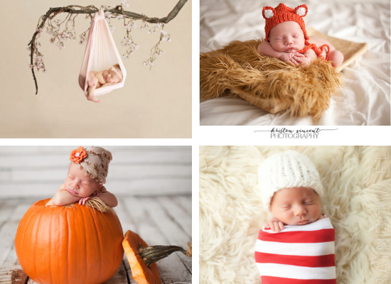 Props and Holiday Ideas for Newborn Pictures