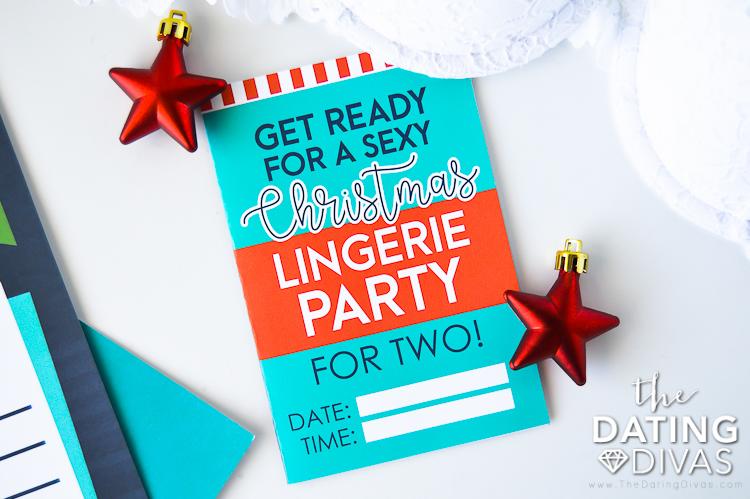 Sexy Santa Christmas Lingerie Party
