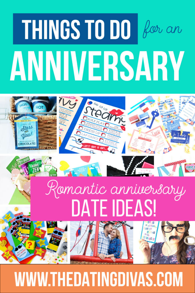 SO many things to do for an anniversary! #anniversarydateideas #thingstodoforananniversary
