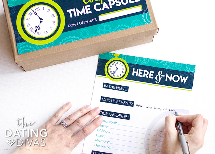 Things to Put in a Time Capsule