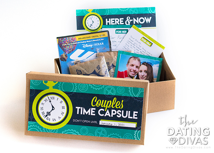 Time Capsule Containers