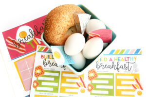 Breakfast Menu Placemat Printables
