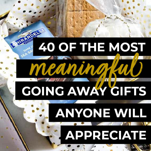 The Ultimate List Of Cheap Easy Going Away Gifts The Dating Divas