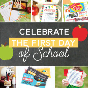 Create new traditions and celebrate the start of a new school year.