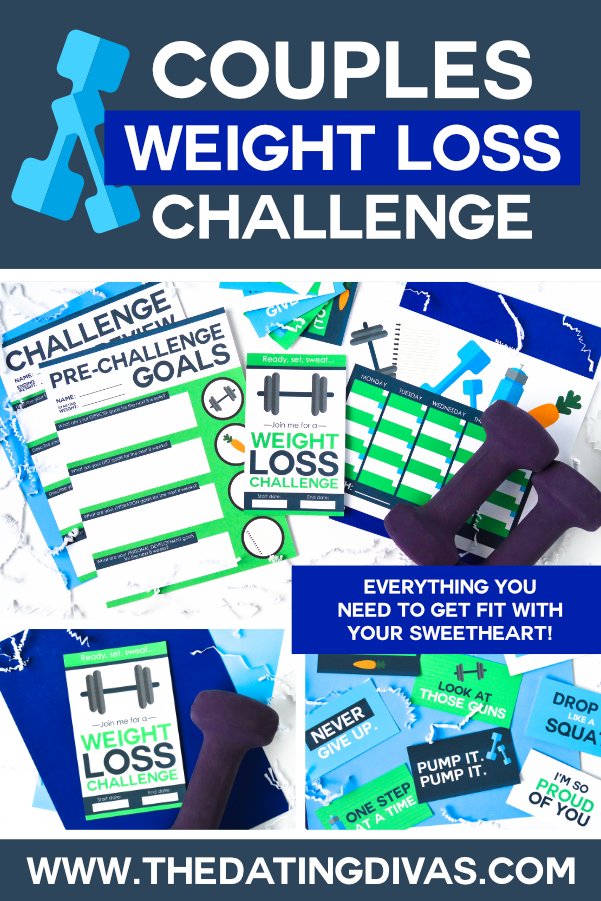 Ahh these couples weight loss challenge ideas are AMAZING!! Totally doing this with my sweetie. #datingdivas #weightlosschallengeideas #couplesweightloss