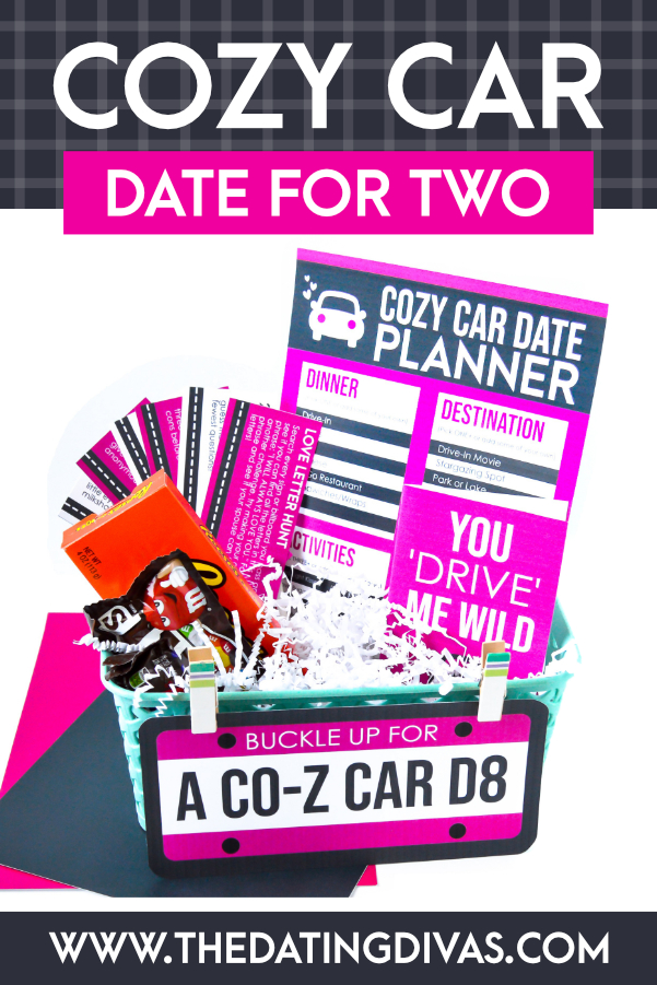 These car date ideas look AMAZING!! So easy and fun! #datingdivas #cardateideas #cardate