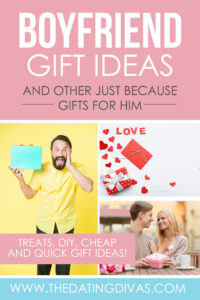 Boyfriend Gift Ideas And Just Because Gifts For Him The Dating Divas