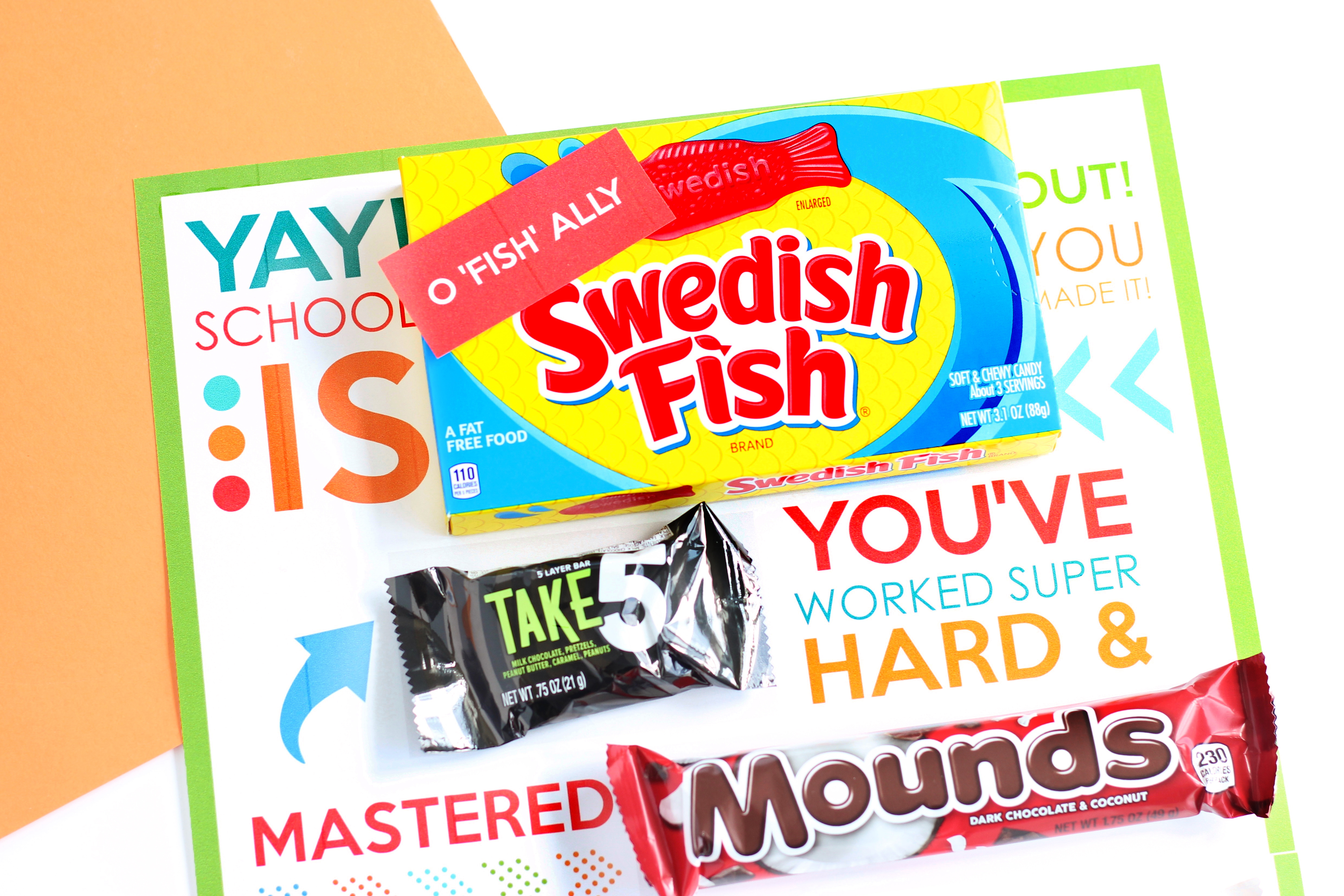 Candy grams are a great back to school gift.