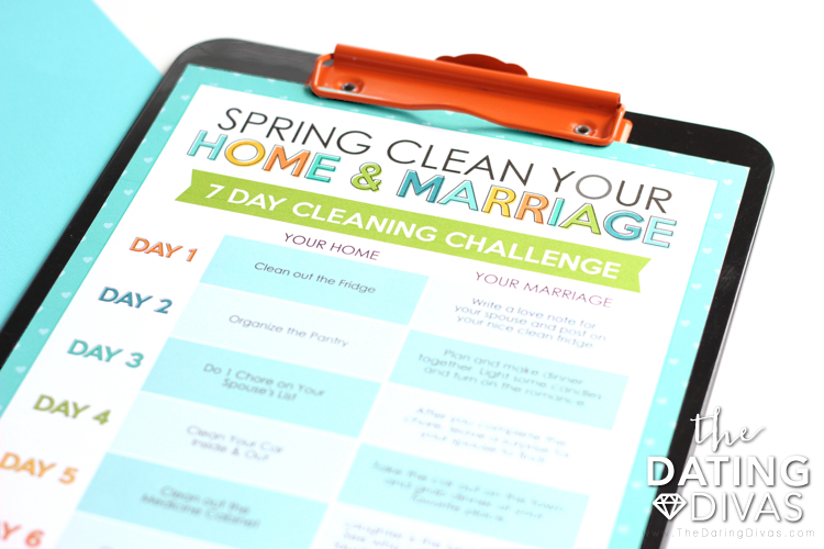 Spring Clean Your Marriage Challenge