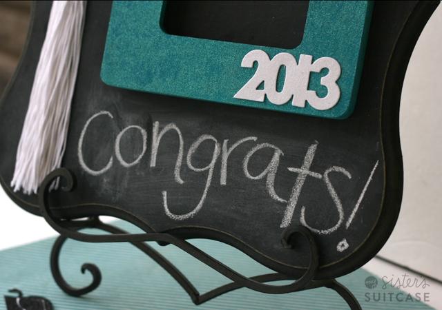 Homemade Graduation Gift Frame