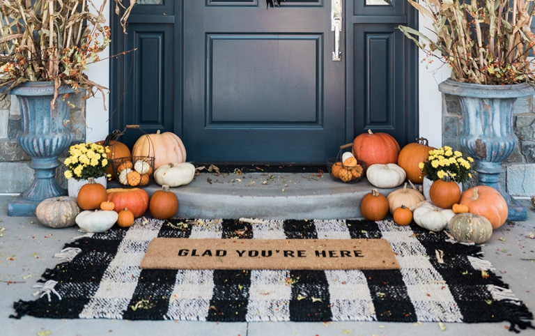 Thanksgiving Decorations For Indoors Outdoors By The