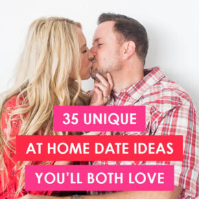 Unique date nights for when you have to stay home. | The Dating Divas.com