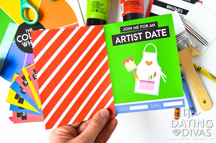 Artist Date Invitation