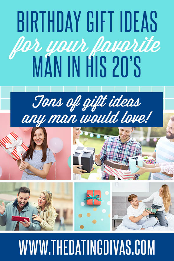 We have put together the BEST gift ideas for men in their 20's. PLUS some ideas to celebrate his big day! #GiftIdeasForMenInTheir20's #BirthdayPartyForYourMan