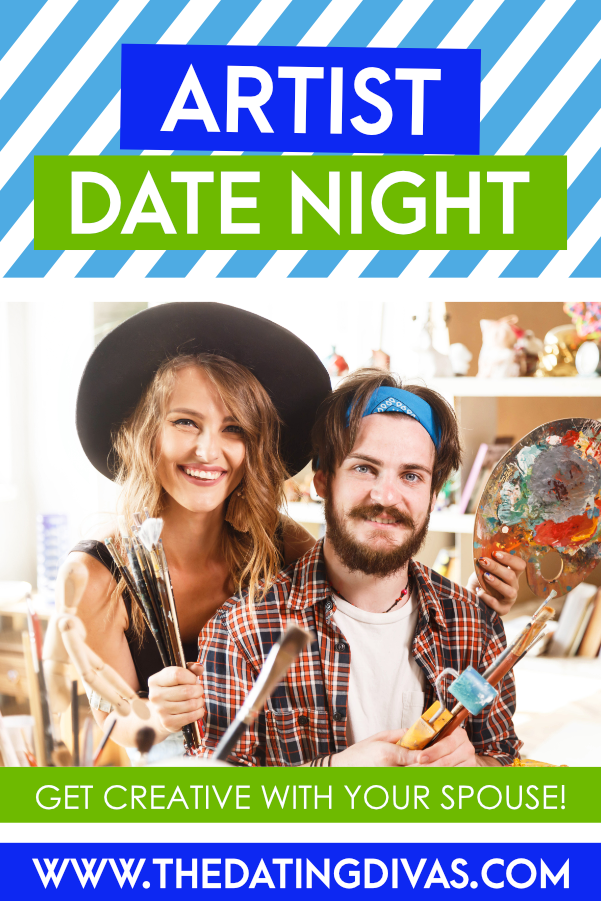 SO excited to do this artist date with my sweetie! So many fun and easy craft ideas for adults! #datingdivas #artistdate #easycraftideasforadults