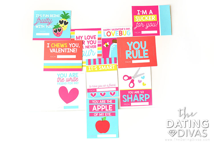 Kids Valentines cards that are easy to prep.