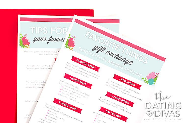 Favorite Things Party Planner and Organizer