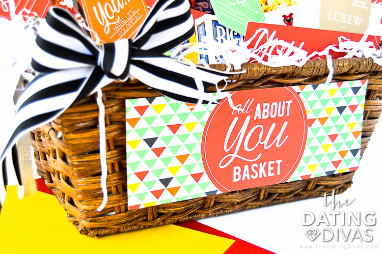 All About You Basket for Gift