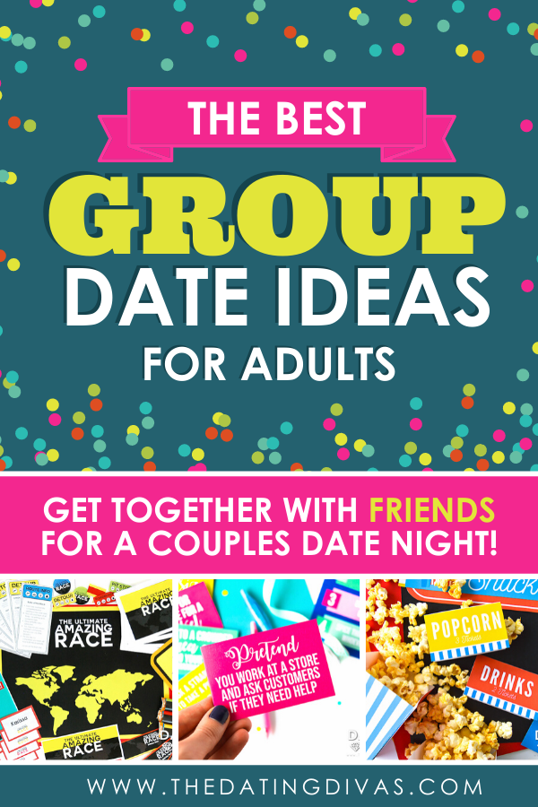 This is the BEST list of double date ideas and group date ideas I've ever seen!!! #datingdivas #doubledateideas #groupdateideas