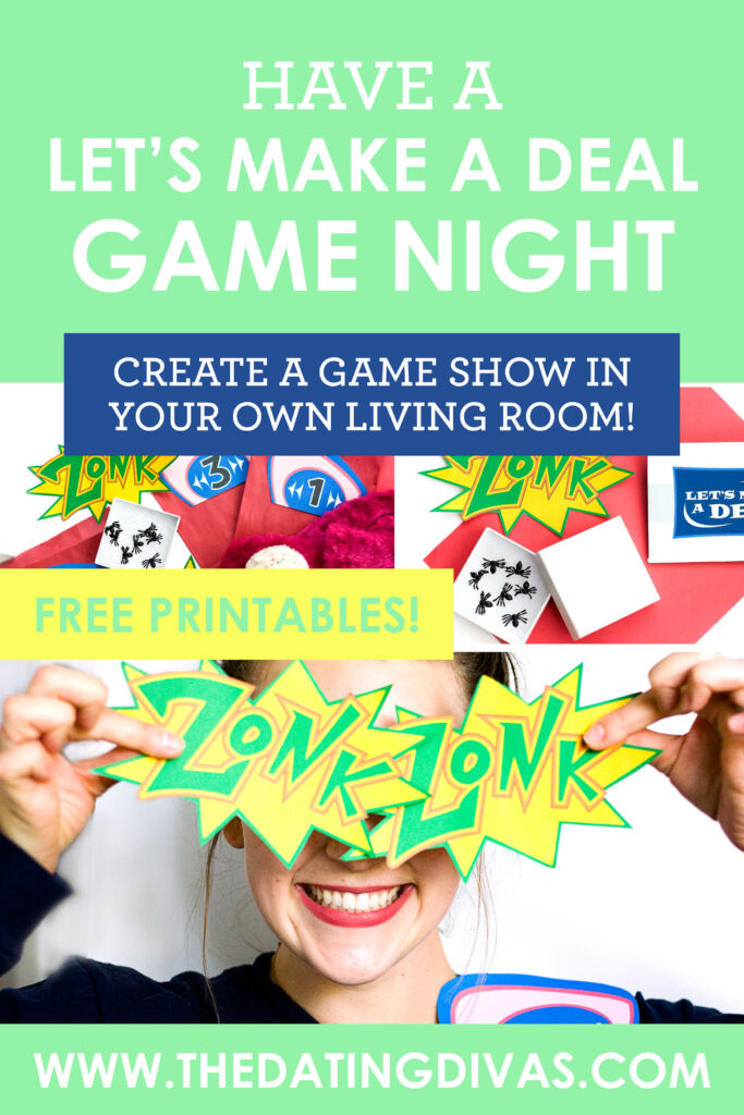 We LOVE game shows! This Let's Make a Deal game night is such a fun group date! #groupdate #letsmakeadealgame