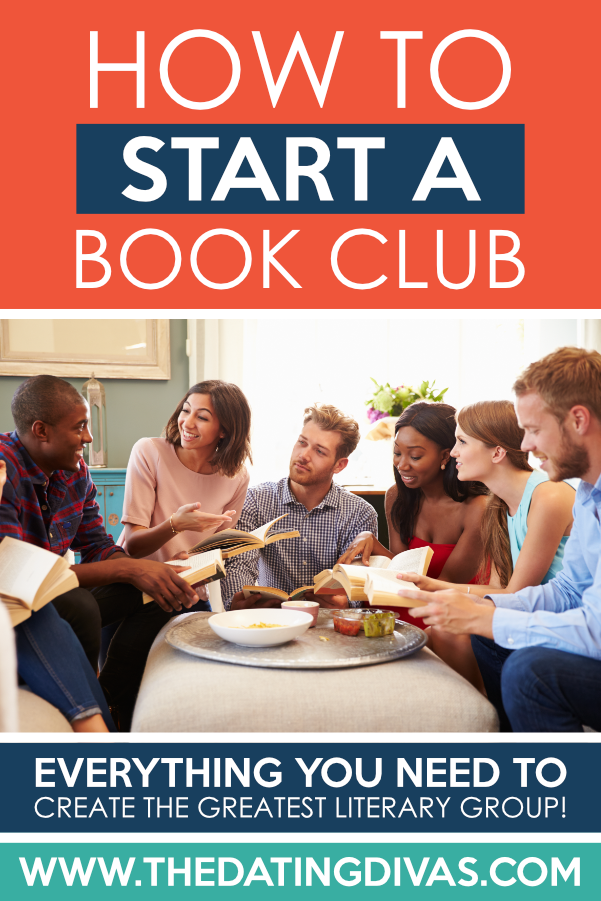 Eee! I've always wanted to learn how to host a book club! And the list of best book club books is AWESOME. #datingdivas #howtohostabookclub #bestbookclubbooks